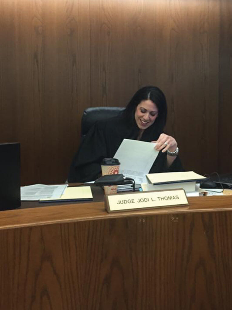 Experience – Judge Jodi Thomas